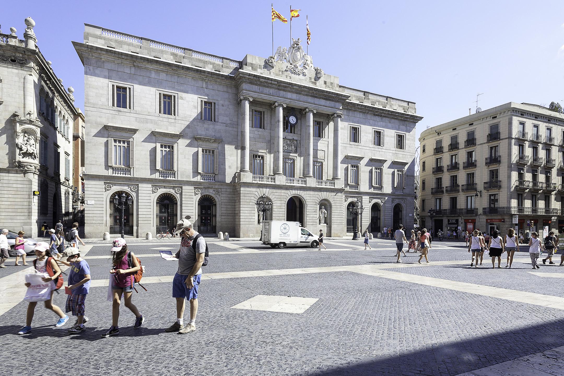 Voltant de l'hotel Condal Barcelona