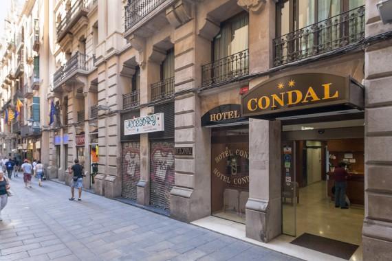 Hotel Condal - Fachada