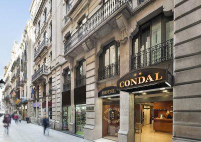 Hotel Condal - Fassade