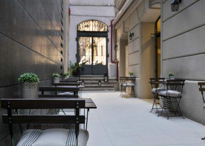 Hotel Condal - Terrassa interior